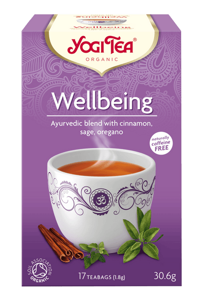 Grocemania Grocery Delivery London| Yogi Tea Wellbeing 17 bags