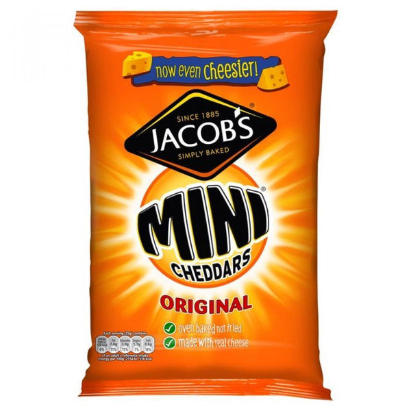Grocemania Grocery Delivery London| Jacobs Mini Cheddars 25g