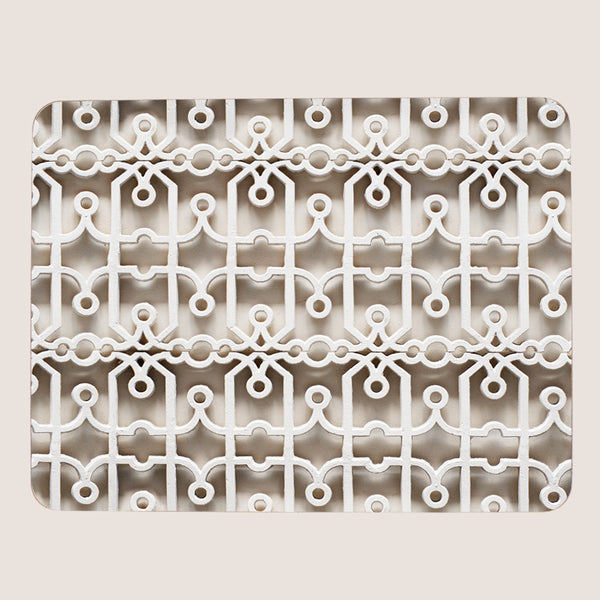 Fretwork large tablemat