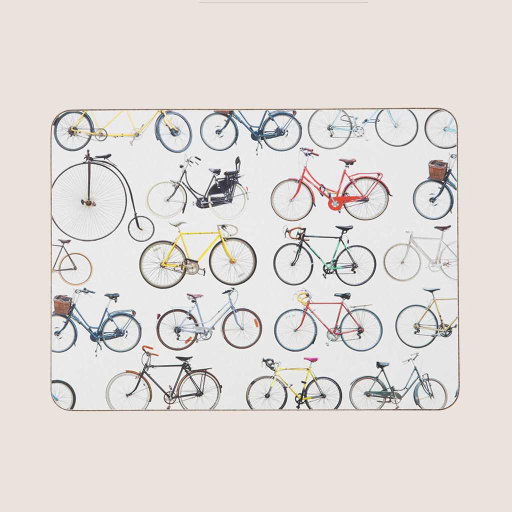 Bikes of Hackney single placemat
