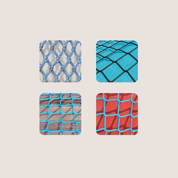 Nautical coasters set of 4