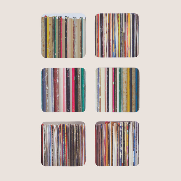 Stacks and Stripes coasters set of 6