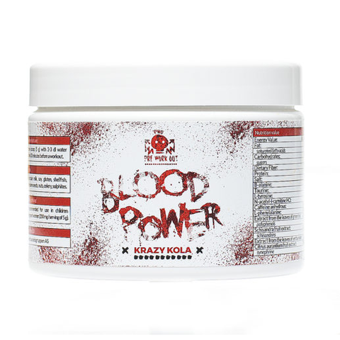 Blood Power Krazy Kola 225g - FitStyle.no
