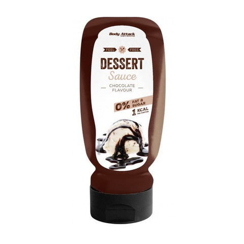 Body Attack Dessert Sauce Chocolate 320ml - FitStyle.no