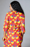 Beautiful African Print Kimono Women Ankara Cover-up - Sirena