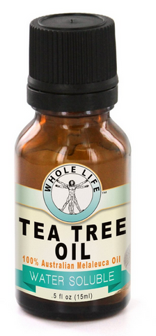 Whole Life Water Soluble Tea Tree Oil, 100% Australian - 15ml