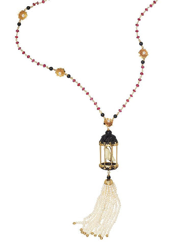 Aviary Tassel Necklaces