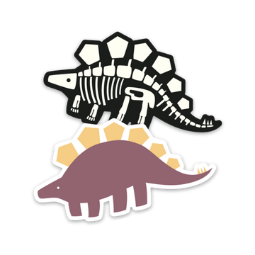 Earnest the Stegosaurus [Sticker] - CoLab. Print
