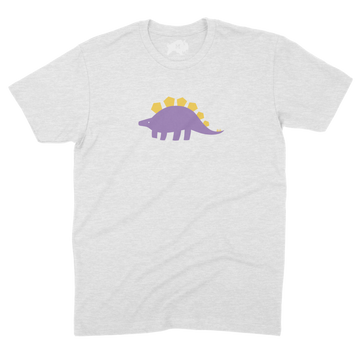 Earnest the Stegosaurus [Glow] - CoLab. Print