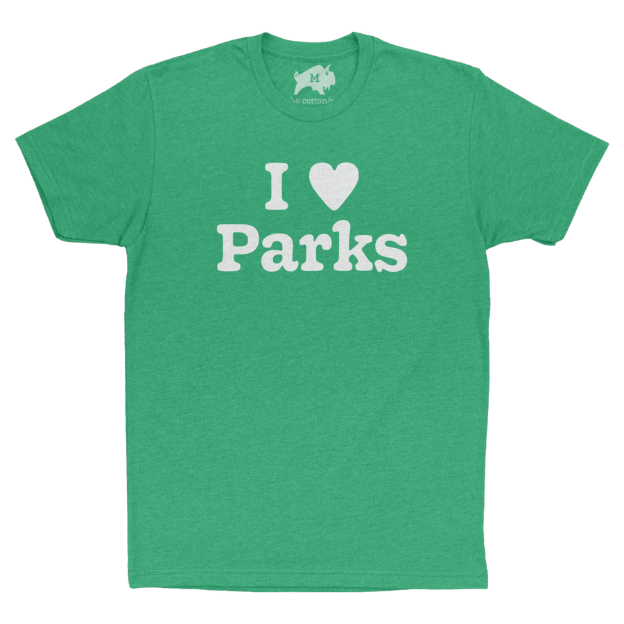 I ♥ Parks [Earth Day] - CoLab. Print