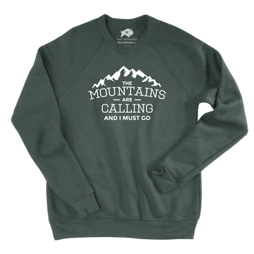 Mountains are Calling [Sweatshirt] - CoLab. Print