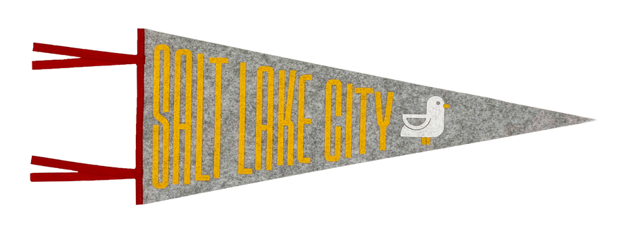 Salt Lake City [Pennant] - CoLab. Print