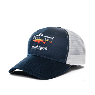 FISH MICHIGAN HAT