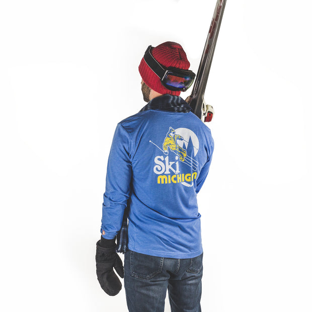 SKI MICHIGAN LONG SLEEVE (UNISEX)