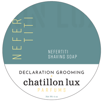 Nefertiti Shaving Soap - Icarus Base - 4oz - Limited Edition