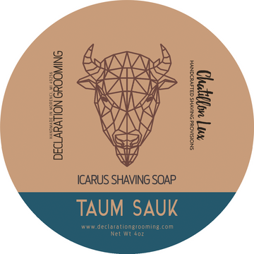 Taum Sauk Shaving Soap - Icarus Base - 4oz - Limited Edition