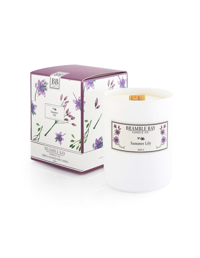 Soy Wax Candle 500g - Summer Lily