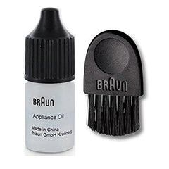 Braun Cleaning Brush 67030939 and Braun Appliance Lubricating Oil