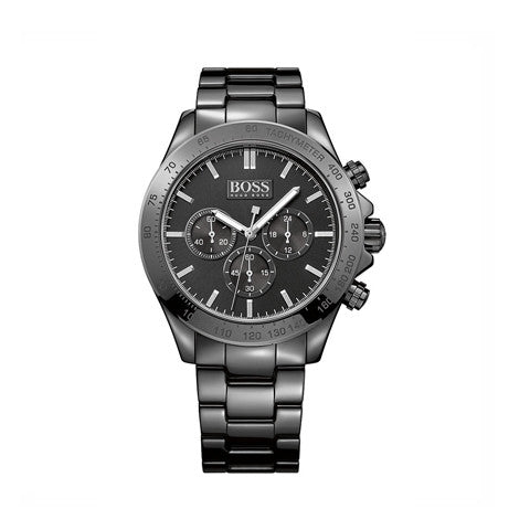 HUGO BOSS Men's IKON CERAMIC CHRONOGRAPH WATCH- 1513197