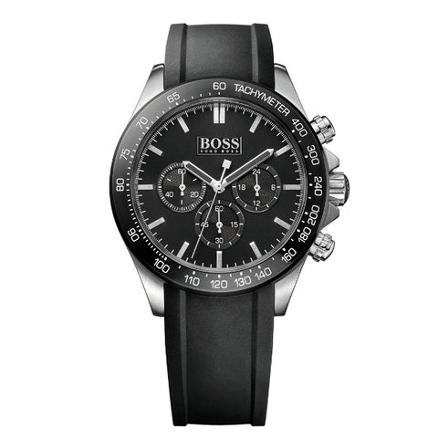 Hugo Boss Ikon Chronograph Black Dial Men's Watch 1513341