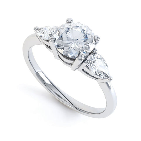 ZARA - 20809R3M-Diamond Engagement Ring-Design Centre Jewellery