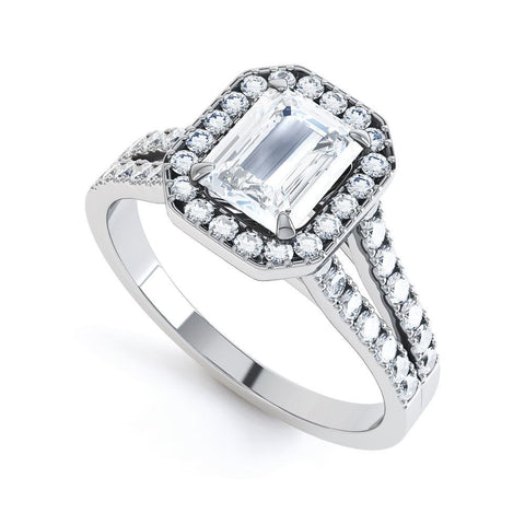 ISLA - 33573RM-Diamond Engagement Ring-Design Centre Jewellery