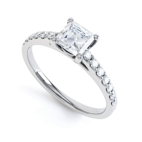 SAPPHIRE - 35556RM-Diamond Engagement Ring-Design Centre Jewellery