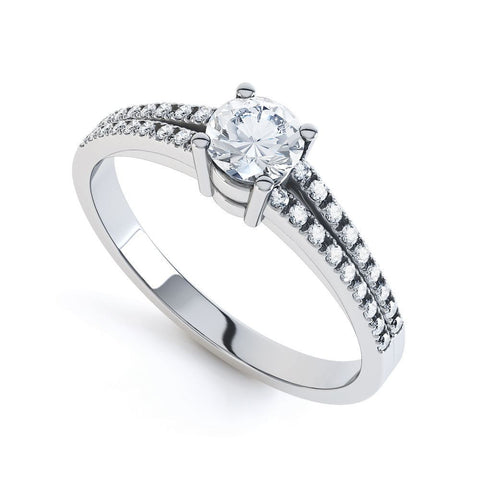 FLORENCE - DCJ005M-Diamond Engagement Ring-Design Centre Jewellery