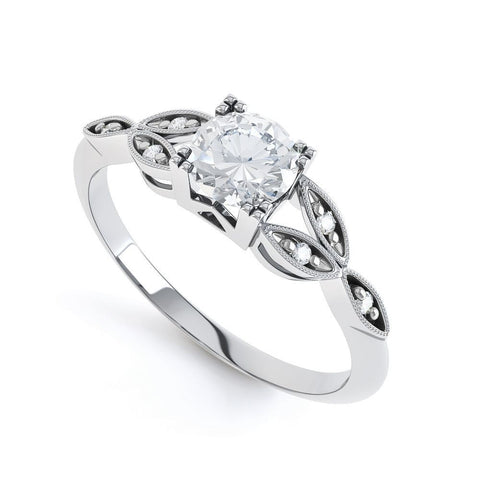 SARAH - DCJ003M-Diamond Engagement Ring-Design Centre Jewellery