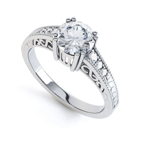 WANDA - DCJ004M-Diamond Engagement Ring-Design Centre Jewellery