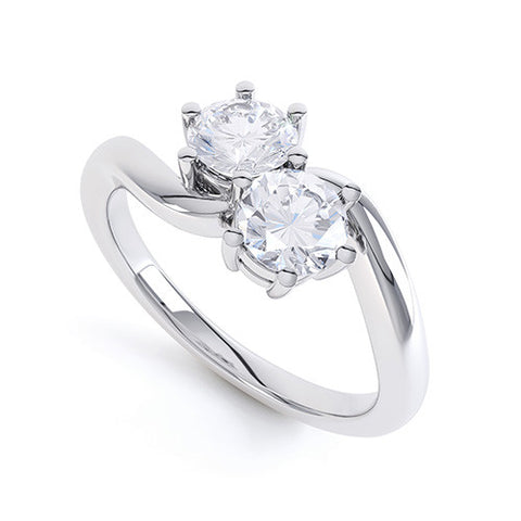 ELLIE - MT02019-Diamond Engagement Ring-Design Centre Jewellery
