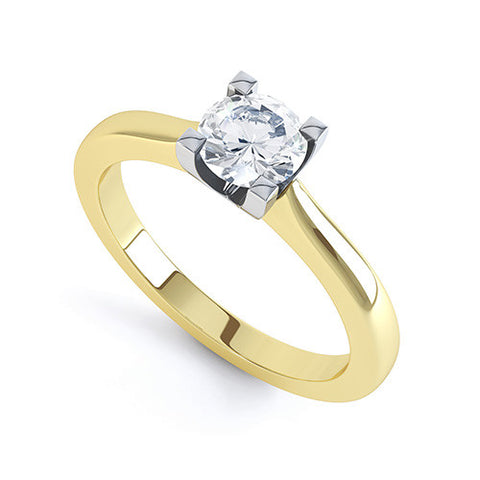 JESSICA - R1253-Diamond Engagement Ring-Design Centre Jewellery