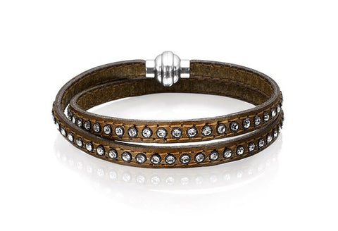 AREZZO LEATHER BRACELET BY SIF JAKOBS-Design Centre Jewellery