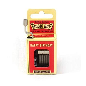 Happy Birthday Music Box - MAD Factory