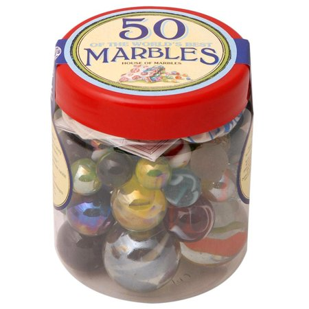 Tub of 50 Marbles - MAD Factory