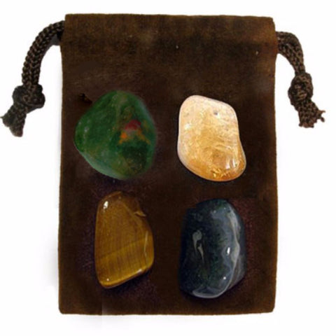 ENERGY KIT Crystal Healing Set - ABBUNDANCE - Crystal Rock Emporium
