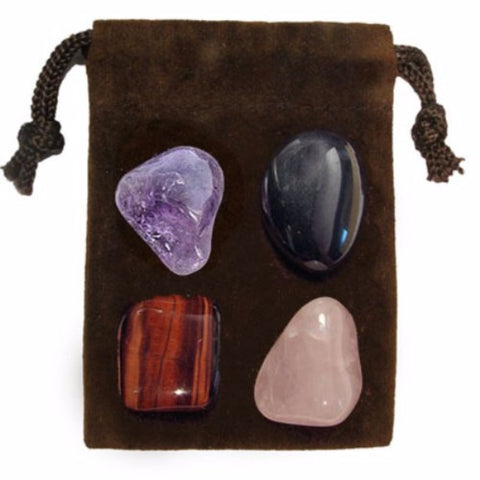 ENERGY KIT Crystal Healing Set - ANTI STRESS - Crystal Rock Emporium