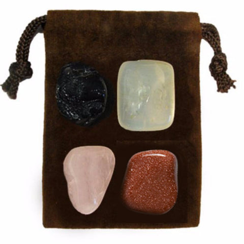ENERGY KIT Crystal Healing Set - FRIENDSHIP - Crystal Rock Emporium