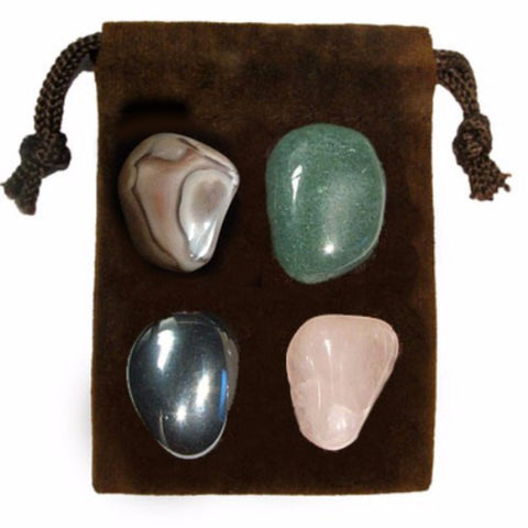 ENERGY KIT Crystal Healing Set - PEACE OF MIND - Crystal Rock Emporium