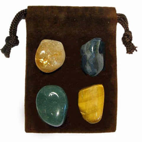 ENERGY KIT Crystal Healing Set - WEALTH / MONEY - Crystal Rock Emporium