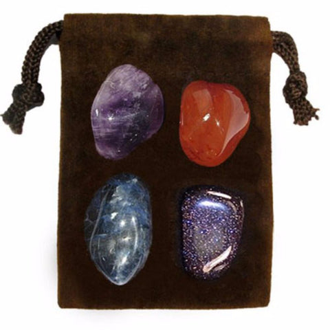 ENERGY KIT Crystal Healing Set - WISDOM - Crystal Rock Emporium