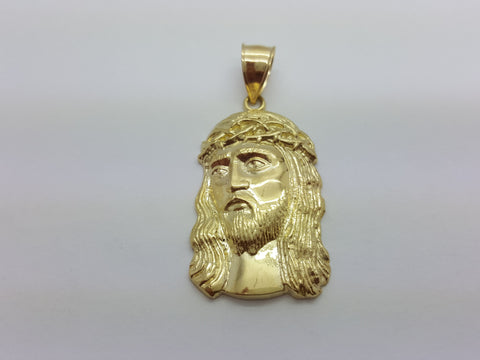 Jesus Michele 10K Yellow Gold 6.1 Gr Men Pendant