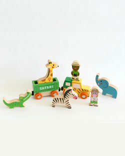 Mini Story Wooden Toy Kit - Safari