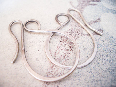 16 Gauge Looped Hoop Earrings