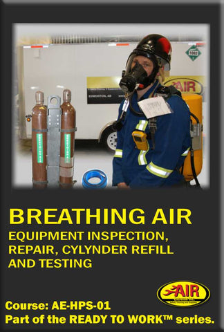 Breathing Air Equipment Inspection, Repair, Cylinder Refill and Testing