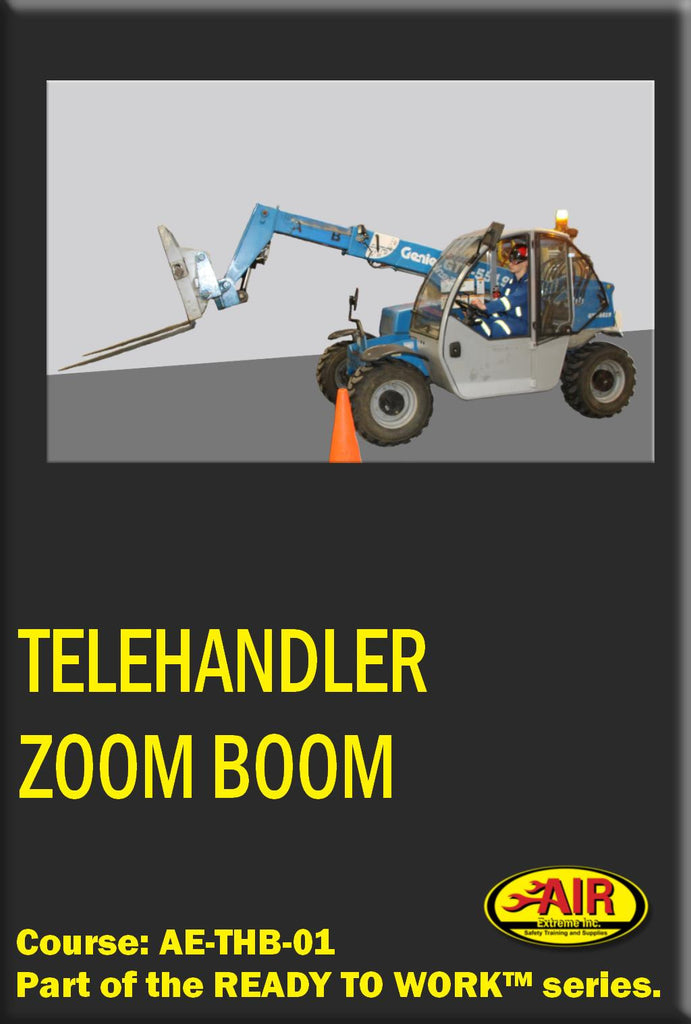 Zoom Boom Training or Telehandler Training Course
