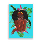 belte art print by black-british artist rahana banana