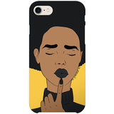 deborah iPhone case by black-british artist nyanza d