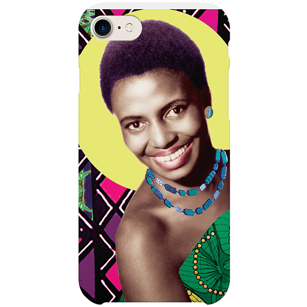 mama africa iPhone case by  black-british artist natasha lisa