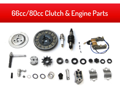 66cc/80cc Clutch & Engine Parts Kit